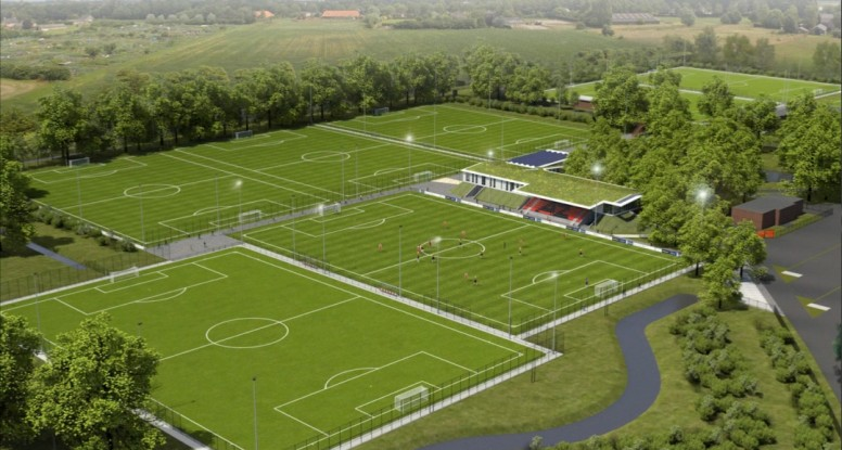 Four Greenfields Artificial Pitches At New Training