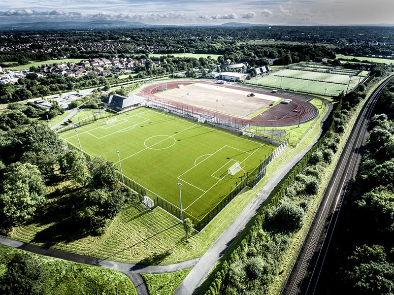 Uclan Sports Arena Greenfields Uk